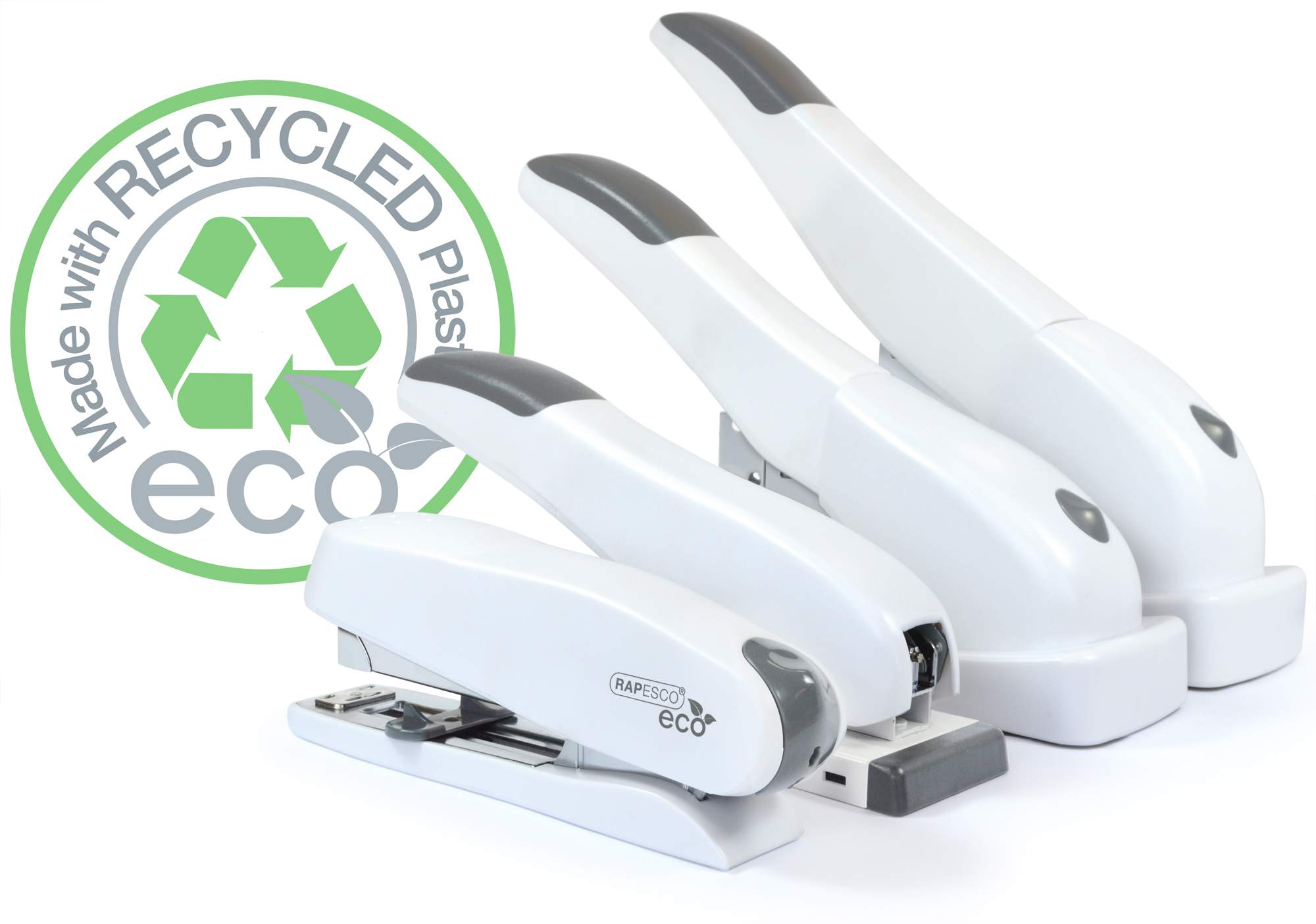 ECO Staplers - White Recycled