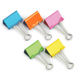 41mm Coloured Foldback Clips
