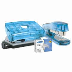 Klippa Stapler with Punch (various colours)