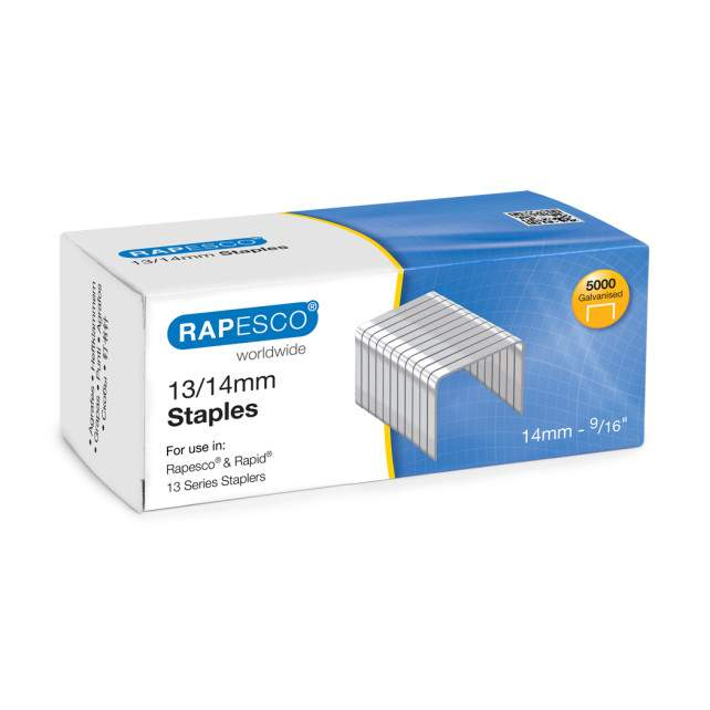 13/14mm Galvanised Staples (box of 5,000)