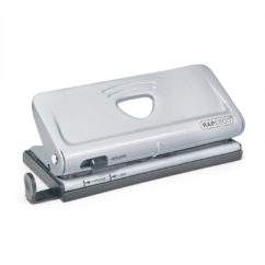 Adjustable 6-Hole Organiser/ Diary Punch (Silver)
