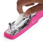 Stapler X5-25 Less Effort - Hot Pink