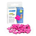 Supaclip #40 Refill Clips – Pink Emojis