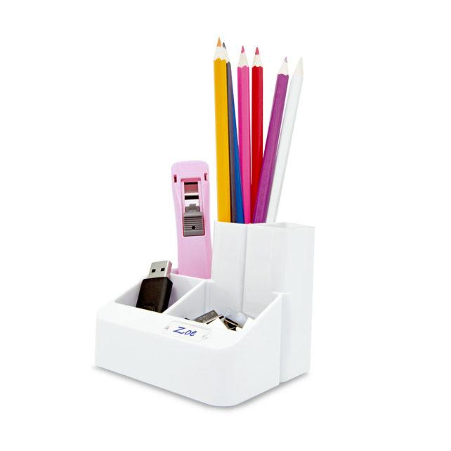Desktop Tidy / Organiser - white